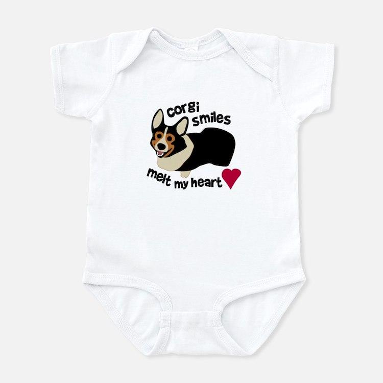 Corgi Smiles BHT Infant Bodysuit
