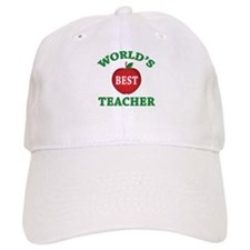 World's Best Teacher Baseball Cap