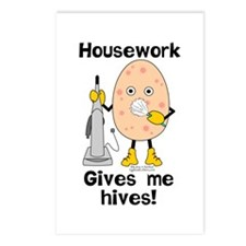 Housework Postcards (Package of 8)