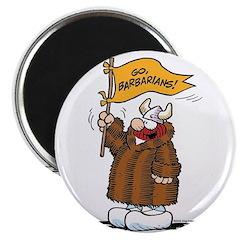 Go Barbarians! Magnet