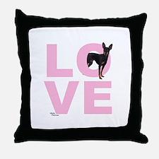 Cute Funny pin Throw Pillow