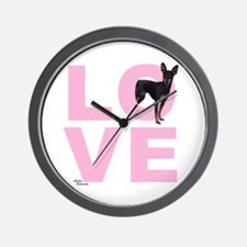 Cute Min pin Wall Clock