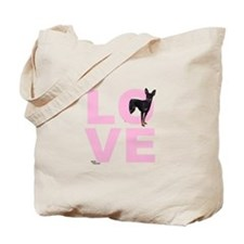 Cute Miniature pinscher Tote Bag