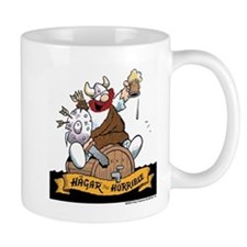 Hagar on Keg Small Mug