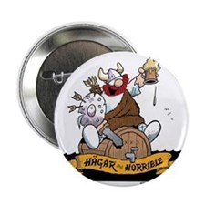 "Hagar on Keg 2.25"" Button"