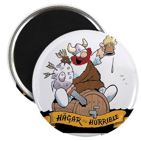 Hagar on Keg Magnet