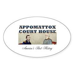 ABH Appomattox Sticker (Oval 10 pk)