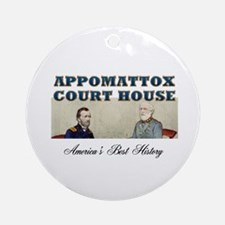 ABH Appomattox Round Ornament