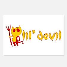 lil' devil Postcards (Package of 8)