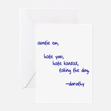 Auntie Em Greeting Cards (Pk of 10)
