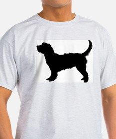 Grand Basset G V Ash Grey T-Shirt