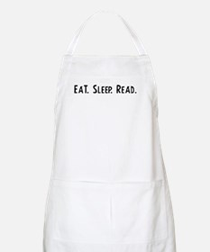 Eat, Sleep, Read BBQ Apron