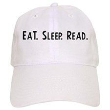 Eat, Sleep, Read Baseball Cap