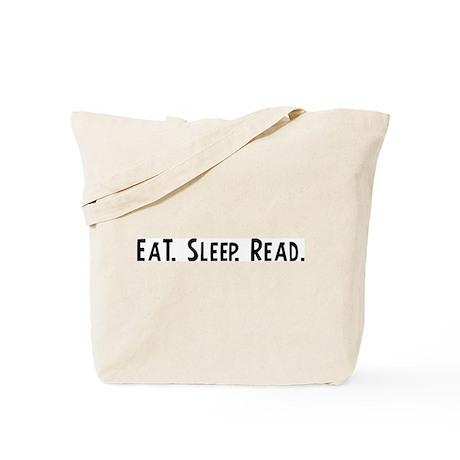 Eat, Sleep, Read Tote Bag