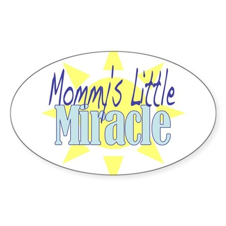 Little Miracle Sticker (Oval)