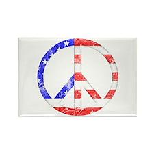 Liberty Peace Rectangle Magnet
