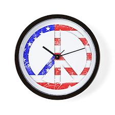 Liberty Peace Wall Clock
