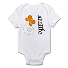 Seattle WA Whimsy Infant Bodysuit