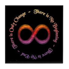 Infinity Is Change Tile Coaster