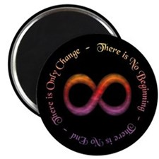 "Infinity Is Change 2.25"" Magnet (10 pack)"