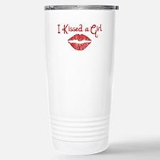 I Kissed a Girl Travel Mug
