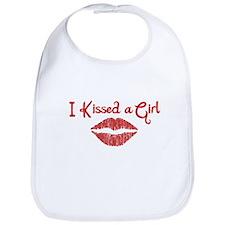 I Kissed a Girl Bib
