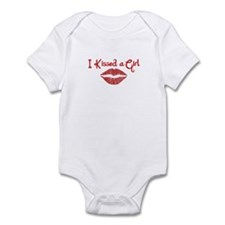 I Kissed a Girl Infant Bodysuit