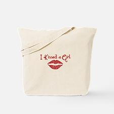 I Kissed a Girl Tote Bag