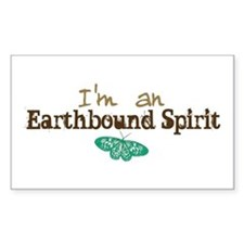 I'm an Earthbound Spirit Rectangle Decal