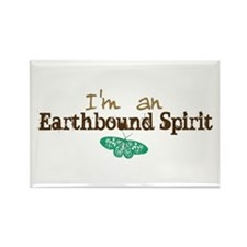 I'm an Earthbound Spirit Rectangle Magnet