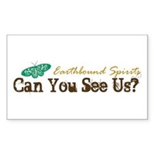Can You See Us? Rectangle Decal