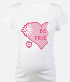 Pink Best Friends Heart Left Shirt