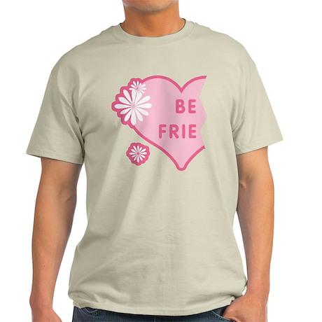 Pink Best Friends Heart Left Light T-Shirt