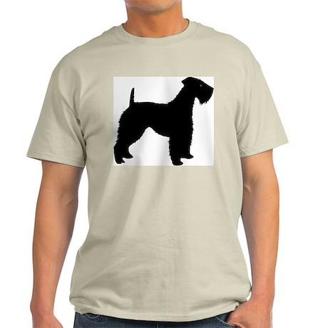 Kerry Blue Terrier Ash Grey T-Shirt