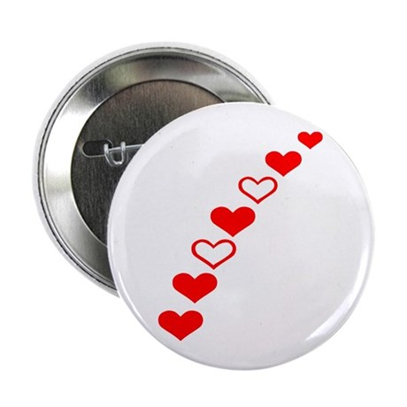 """Hearts 2.25"""" Button (10 pack)"""