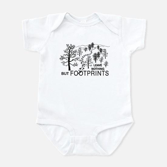 Leave Nothing but Footprints Infant Bodysuit