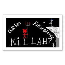 Psychopathic Rectangle Decal