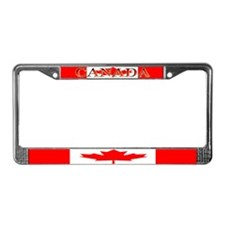 Canada Canadian Blank Flag License Plate Frame
