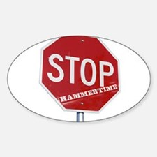 HAMMERTIME Oval Decal