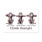 Climb Onsight Mini Poster Print
