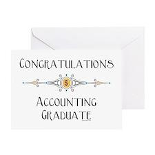 Accounting Graduation (Blank) Greeting Card