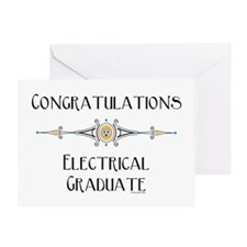 Electrical Graduate Greeting Card