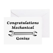 Mechanical Graduation Greeting Card