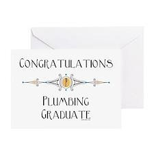 Plumbing Graduation Greeting Card
