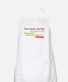 whatchamacallit BBQ Apron