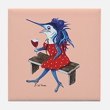 Cabernet Trixie Tile Coaster