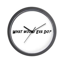What would Eva do? Wall Clock