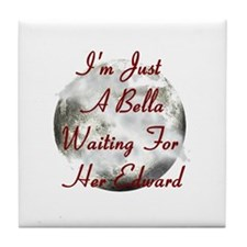 Bella Waiting For Edward Tile Coaster