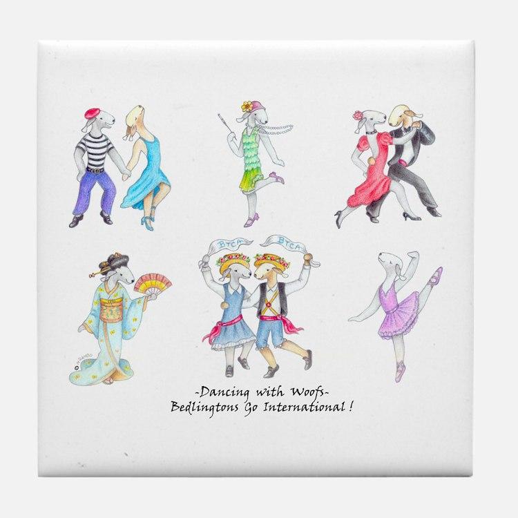Dancing Bedlies Tile Coaster