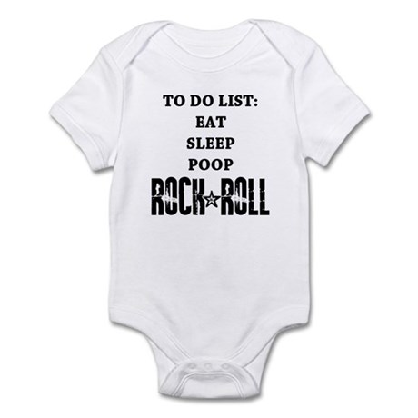 To Do List Rock And Roll Infant Bodysuit